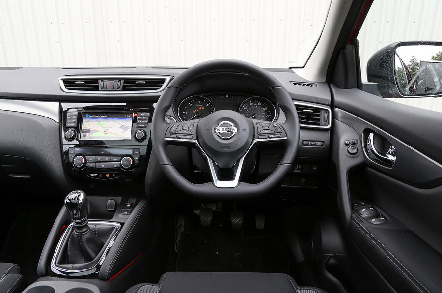 nissan qashqai 1 5 dci 110 n connecta 2017 review review autocar. Black Bedroom Furniture Sets. Home Design Ideas