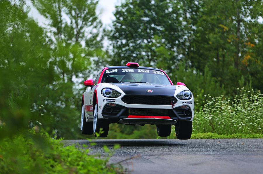 Rally Test Abarth 124 Rally Driven Autocar