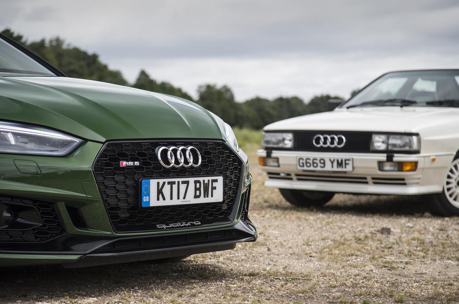 Audi RS5 vs Audi Quattro