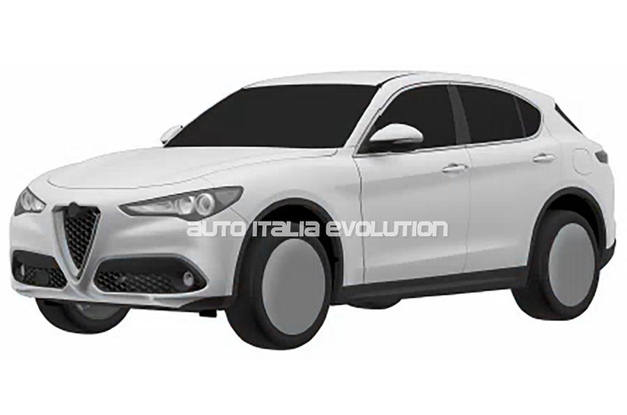 Entry Level Alfa Romeo Stelvio Revealed In Patent Images Autocar