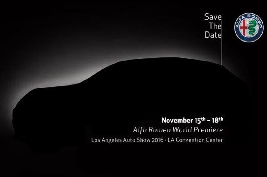 Alfa Romeo Stelvio to be revealed at LA motor show