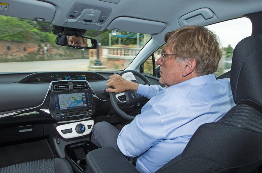 Steve Cropley drives the Toyota Prius PHEV
