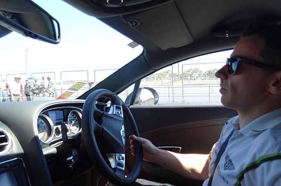 Bentley driver Steven Kane