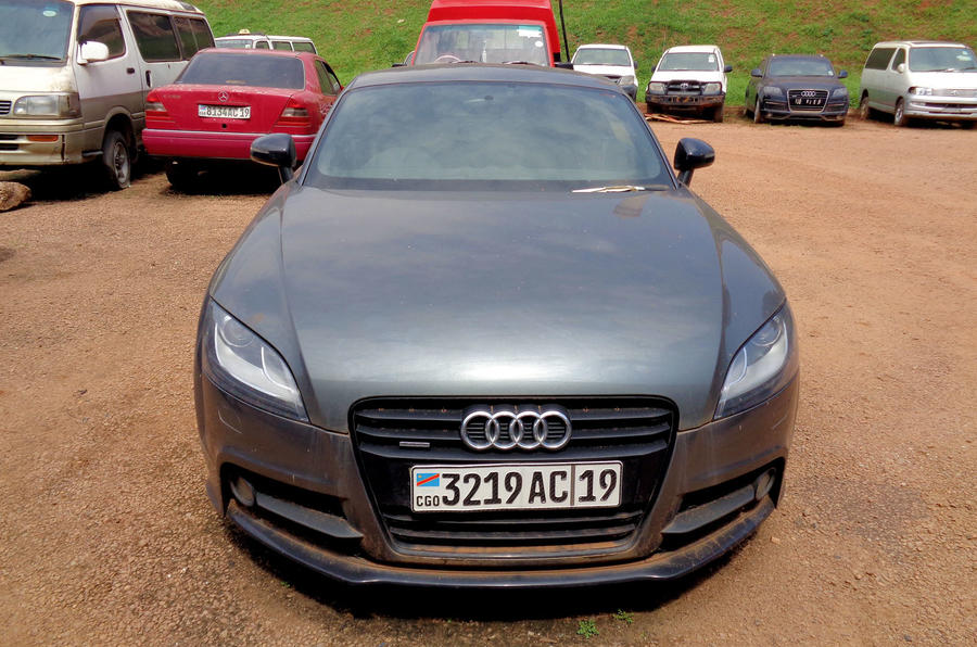 Stolen In London And Smuggled To Africa Tracking The Car Thieves - Audi car tracker