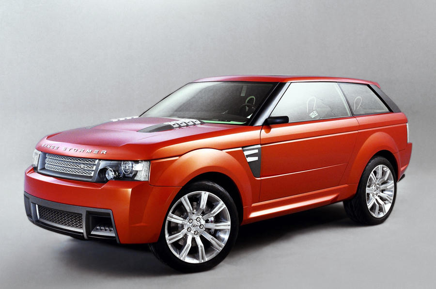 Super-luxury Range Rover Coupé under consideration