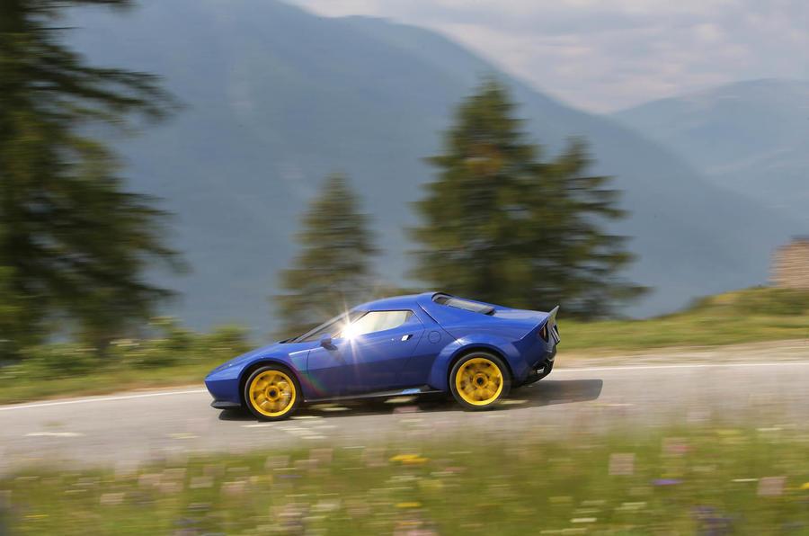 Lancia Stratos: driving the reborn \'70s rally car | Autocar