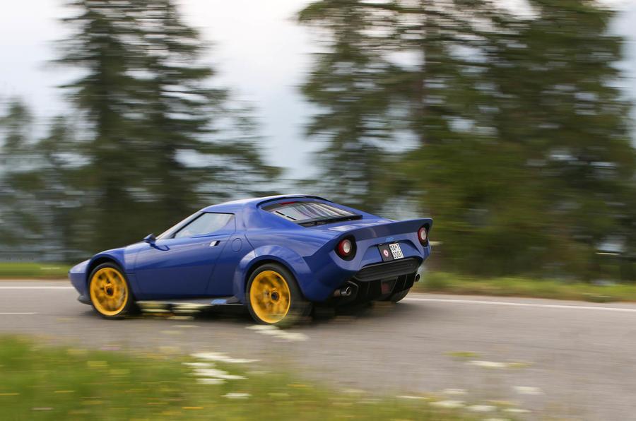 Lancia Stratos reborn