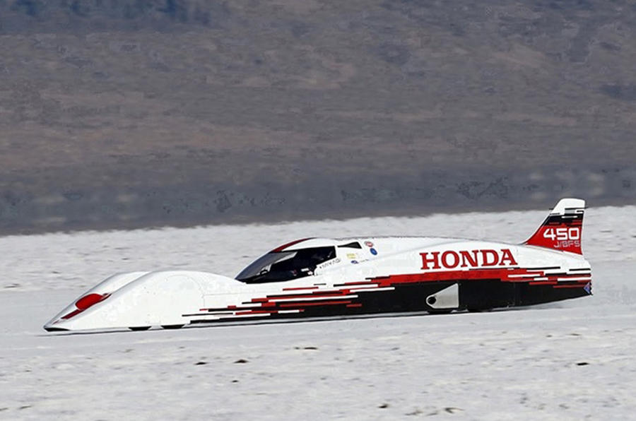 fastest honda in the world has 660cc three cylinder engine