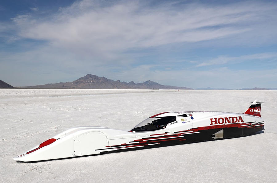 This is the fastest Honda ever - 261.875 miles per hour