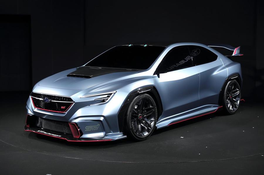 Subaru to show STI version of Viziv Performance concept at Tokyo Auto Salon