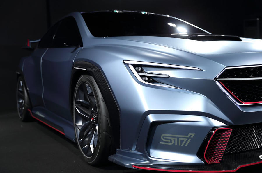 Subaru to show STI version of Viziv Performance concept at Tokyo Auto Salon