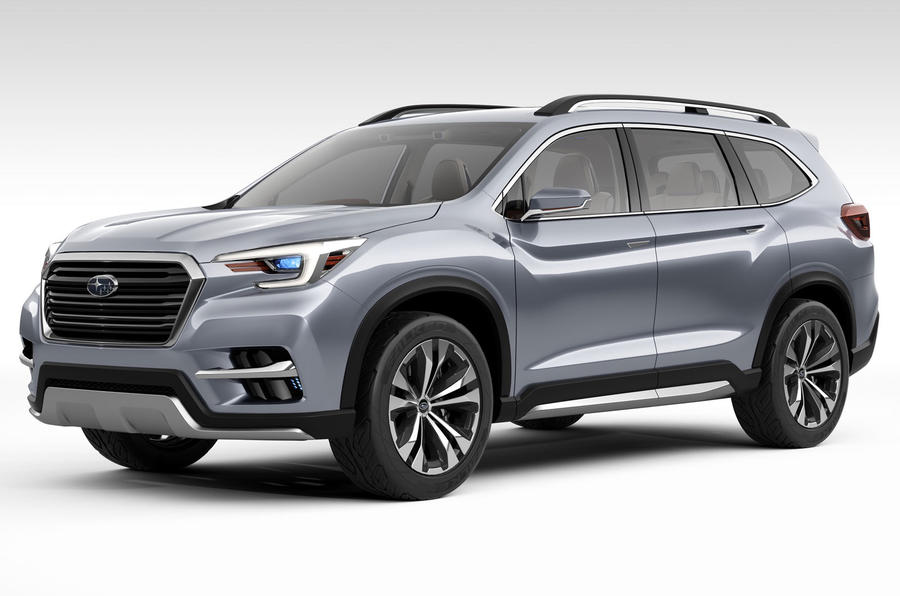 Subaru Ascent name confirmed for upcoming seven-seat SUV | Autocar
