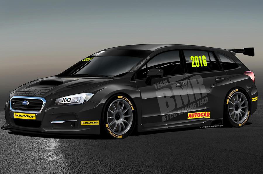 Subaru Levorg Estate To Compete In British Touring Car Championship Autocar