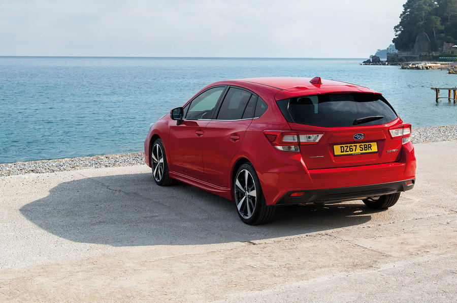 Subaru Impreza lands in Frankfurt as all-wheel drive Ford Focus rival