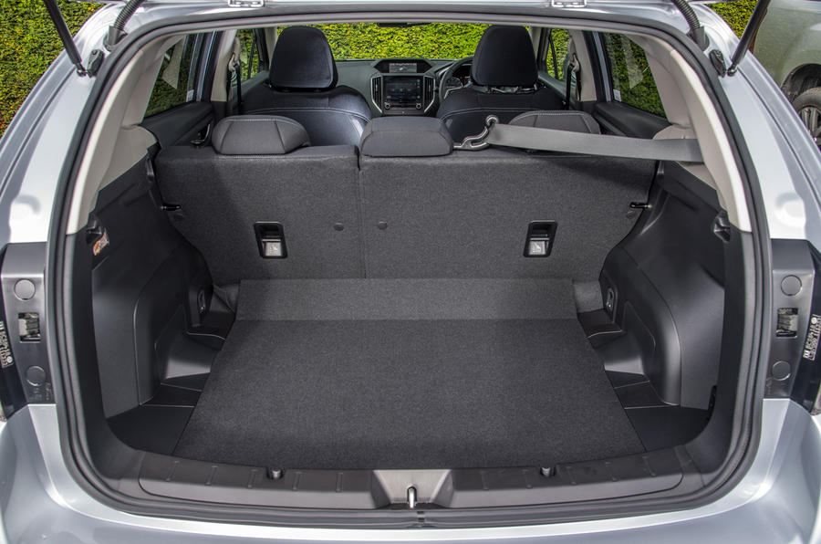 Subaru Impreza boot space