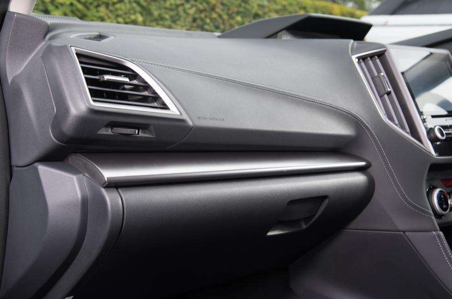Subaru Impreza dash trim