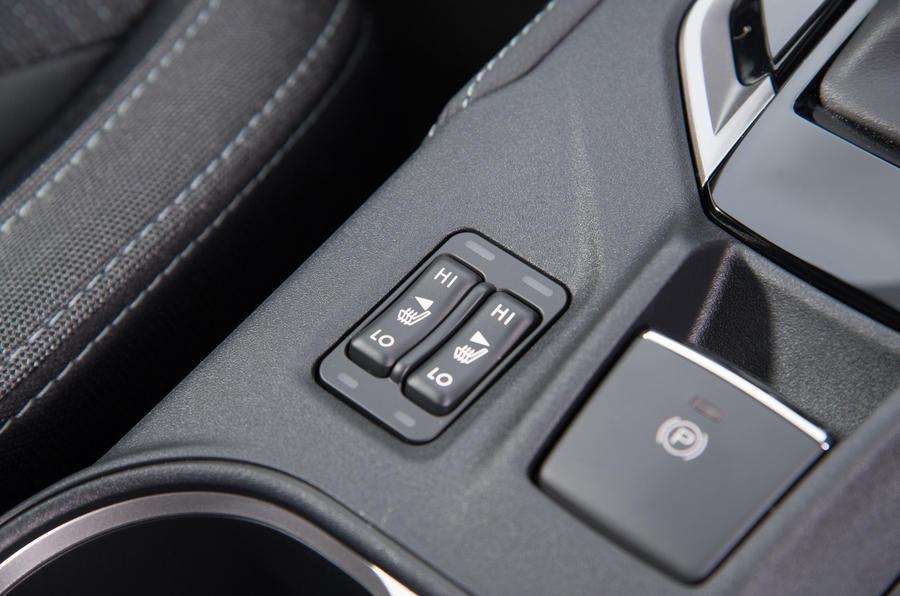 Subaru Impreza heat seats switch