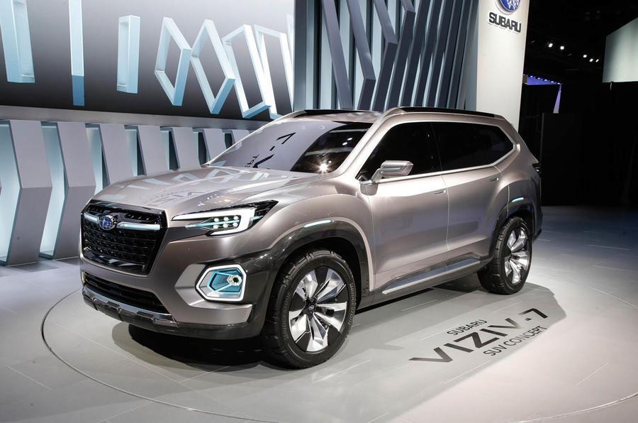 Subaru Viziv Suv Concept Revealed Motor Show Autocar