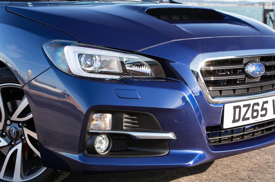 Subaru Levorg distinctive headlights