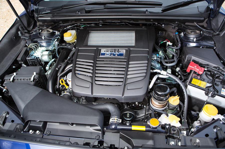 1.6-litre Subaru Levorg petrol engine