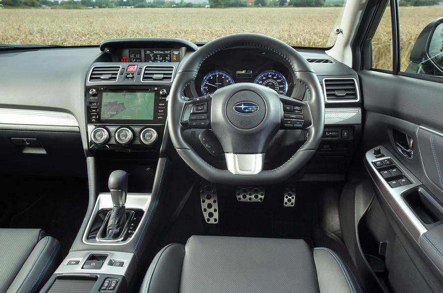 Subaru Levorg dashboard