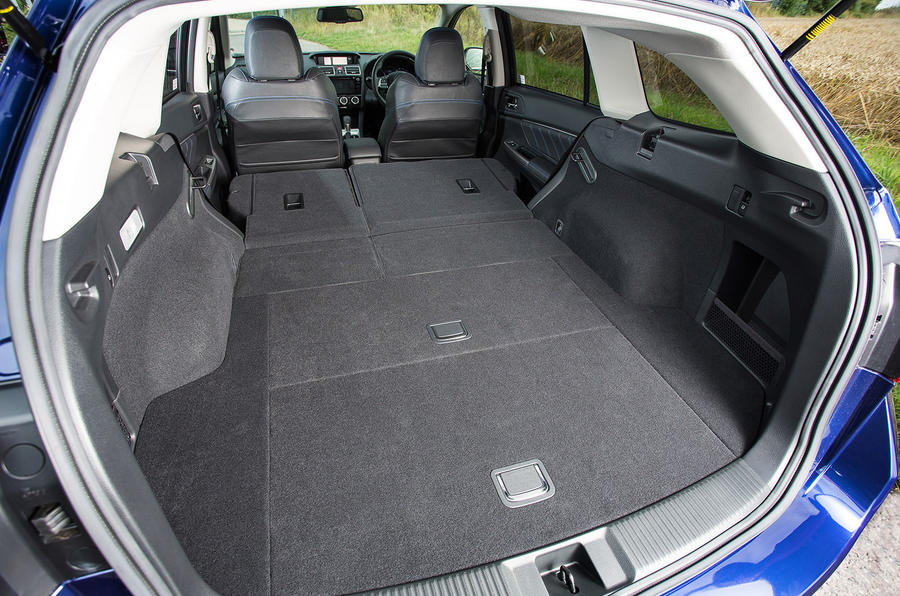 Subaru Levorg extended boot space