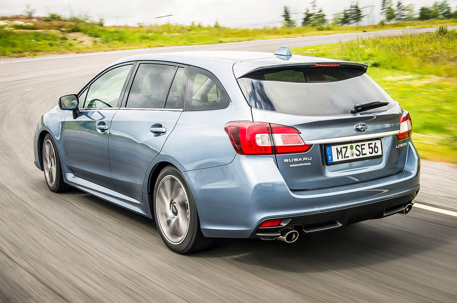 Subaru Levorg rear