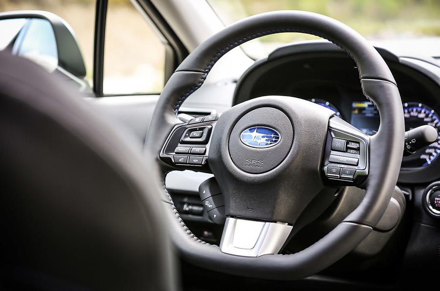 Subaru Levorg steering wheel