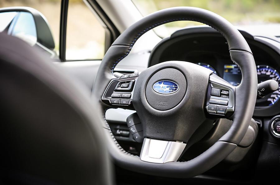 Subaru Levorg steering wheel