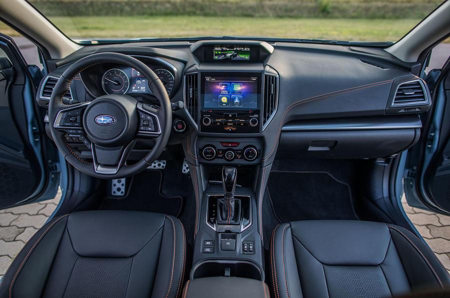 Subaru XV dashboard