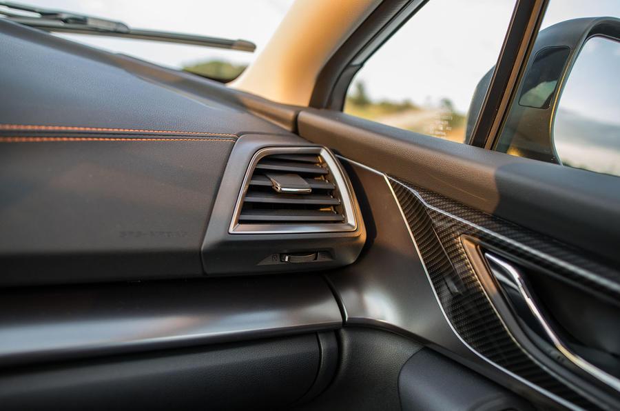 Subaru XV air vents