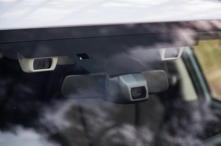 Subaru XV Eye Sight camera