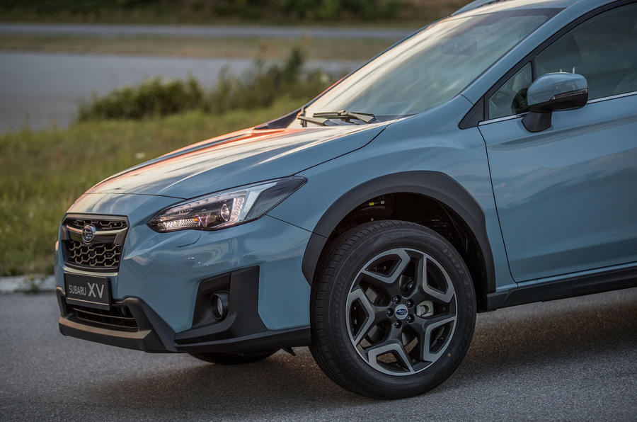 Subaru XV front end