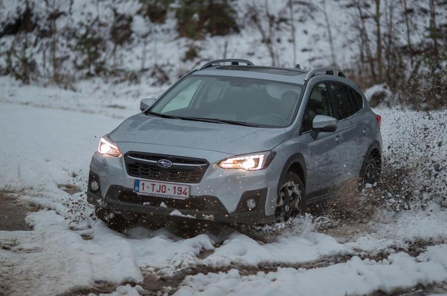 Subaru XV in soft