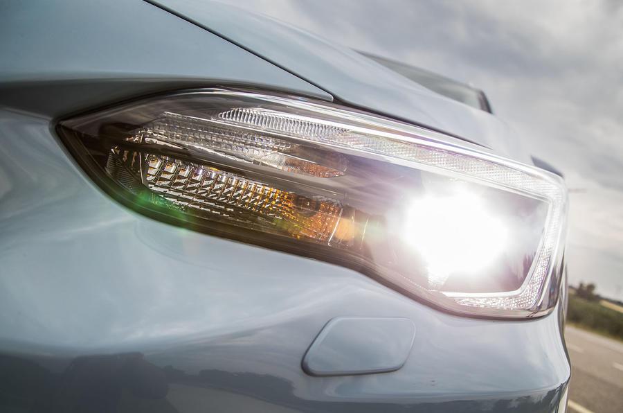 Subaru XV LED headlights