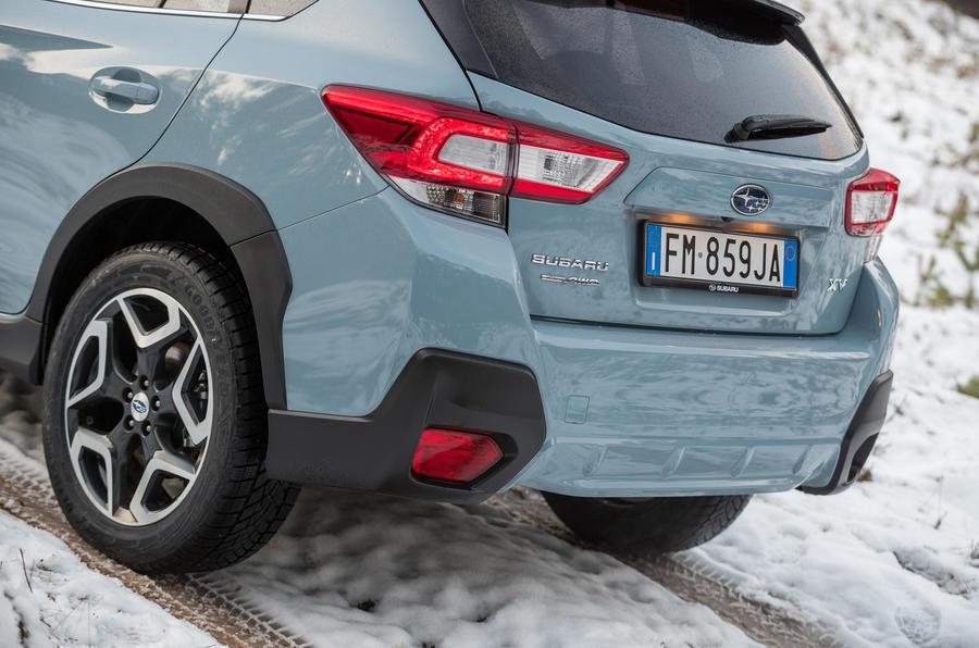 Subaru XV rear end