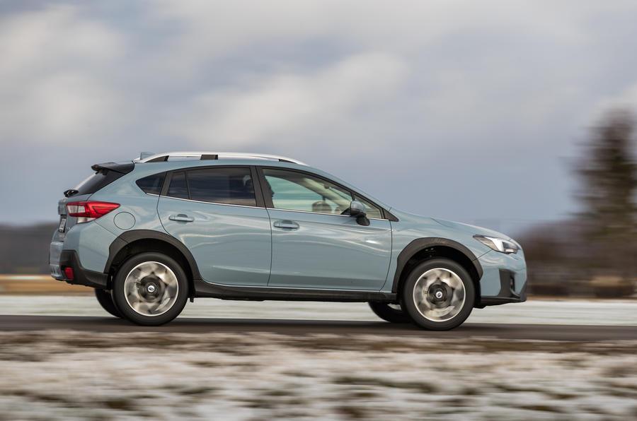 Subaru XV side profile