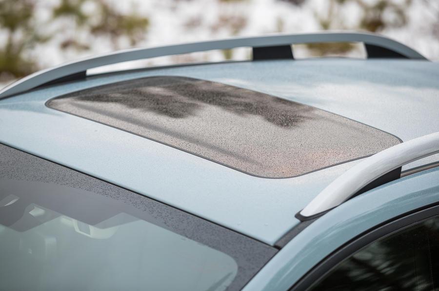 Subaru XV sunroof