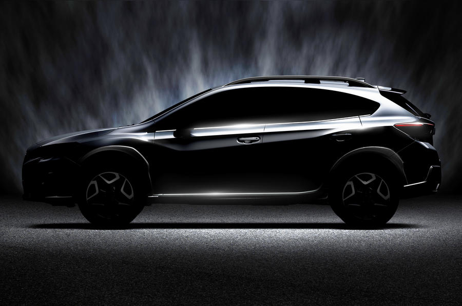 2017 Subaru XV set for Geneva motor show debut