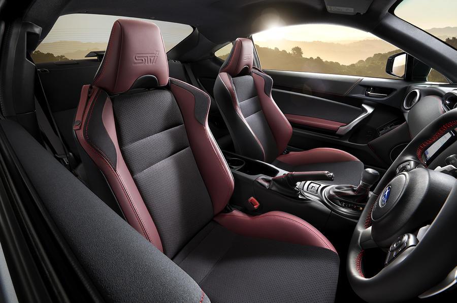 Subaru BRZ STI Sport interior