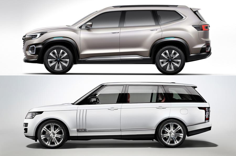Subaru Viziv 7 Suv Concept Revealed At La Motor Show Autocar