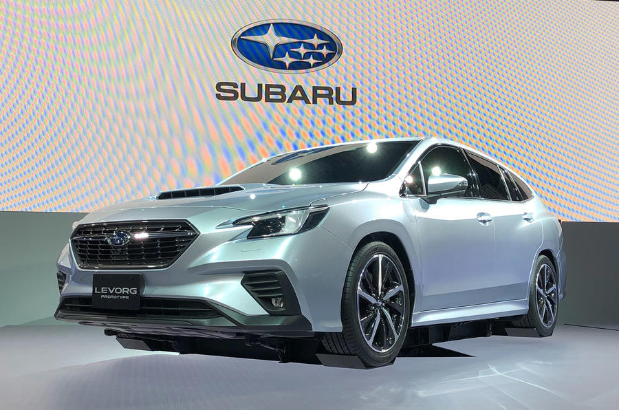 Subaru Levorg prototype at Tokyo 2019