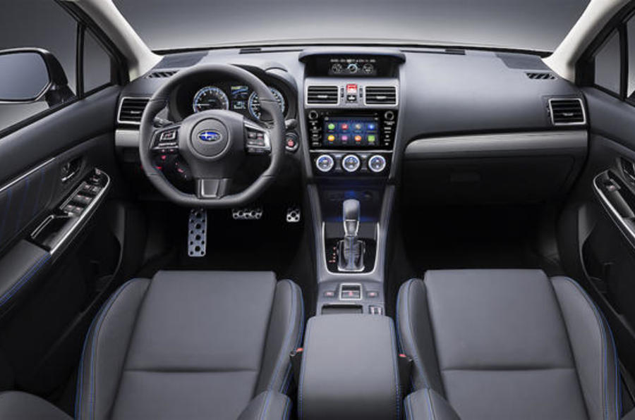 Subaru Levorg front interior