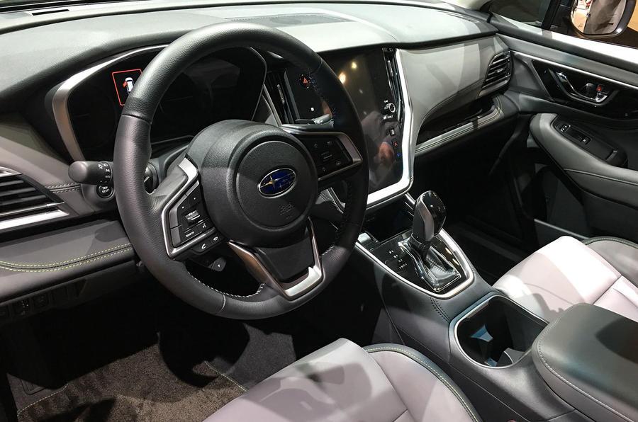 Subaru Outback 2019 New York Motor Show reveal - interior