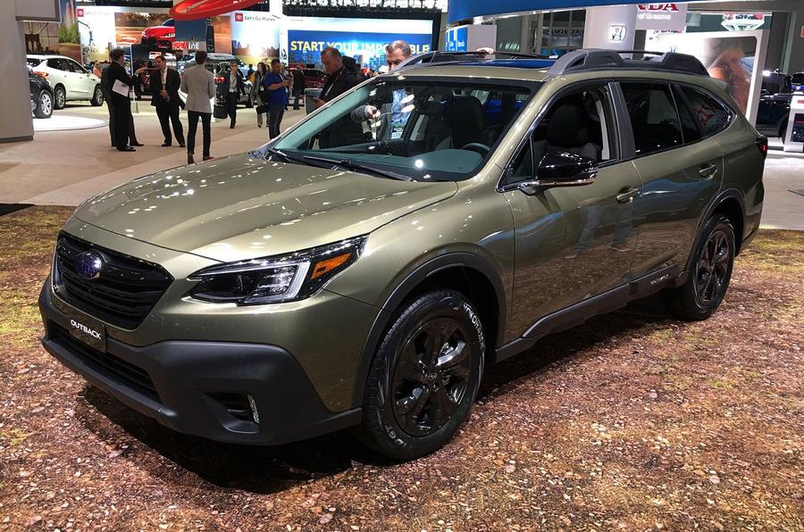 Subaru Outback 2019 New York Motor Show reveal - lead