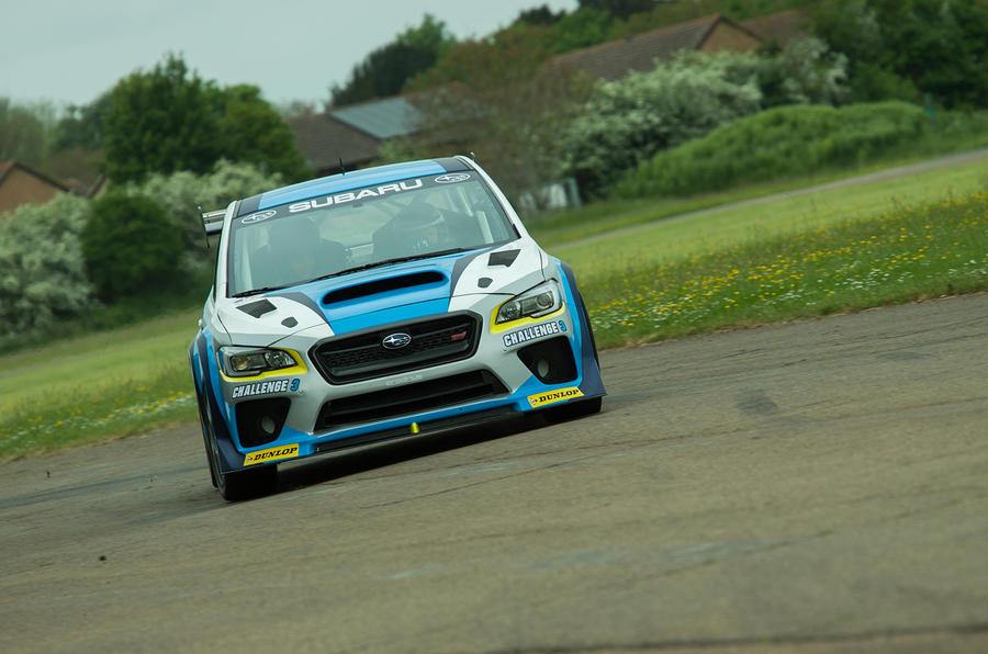 ... Isle of Man TT course earlier this month, and now Subaru has released