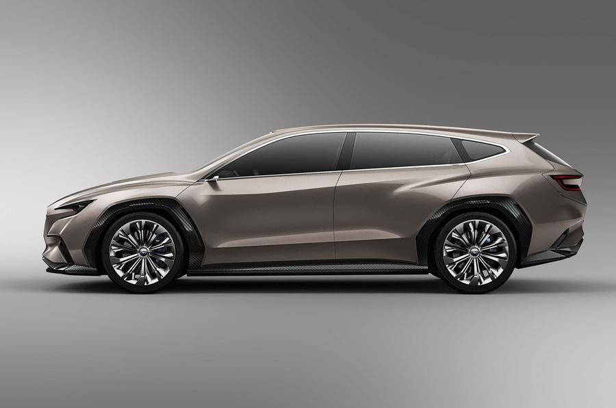Subaru VIZIV Tourer concept makes debut in Geneva