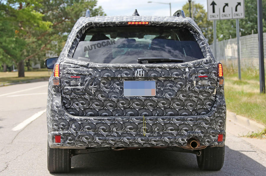 Next Subaru Forester targets Honda CR-V with all-new underpinnings