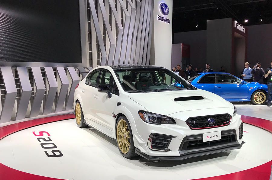 Sti S209 Is Most Powerful Subaru Yet Autocar