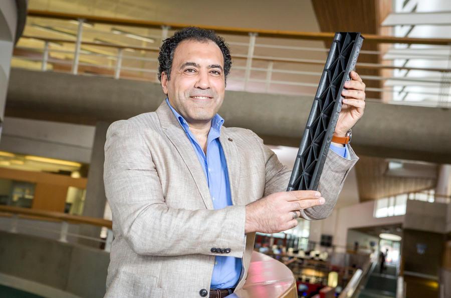 Ahmed Elmarakbi from the University of Sunderland